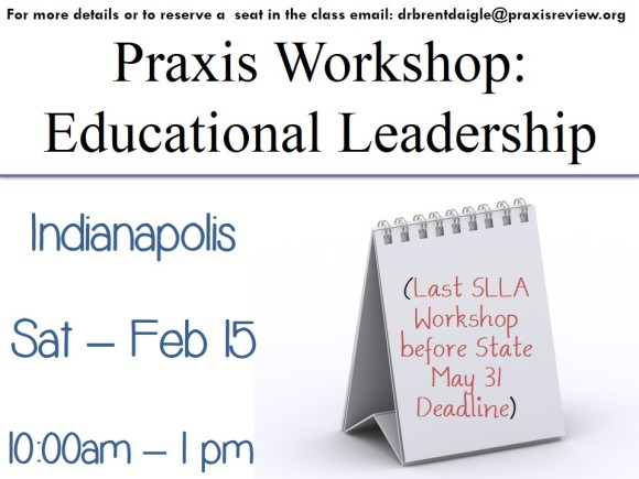Indianapolis - SLLA Workshop - Saturday, Feb 15