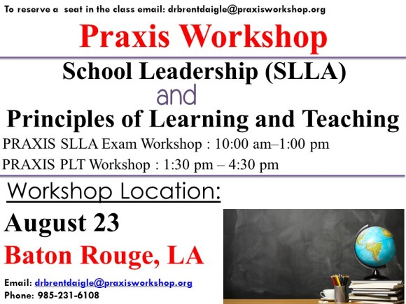 To join us for the workshop contact:  Email: drbrentdaigle@praxisworkshop.org Phone: 985-231-6108