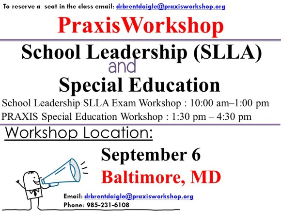 Baltimore MD Workshop