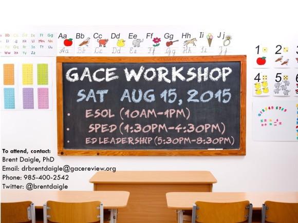 GACE Workshop