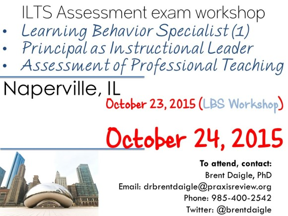 ILTS Assessment exam workshop