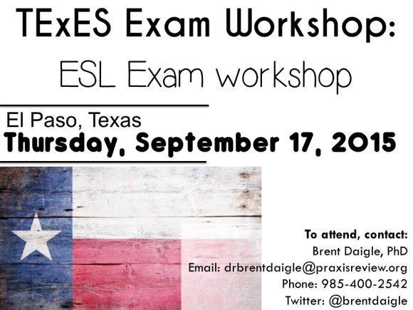 Texas ESL Workshop